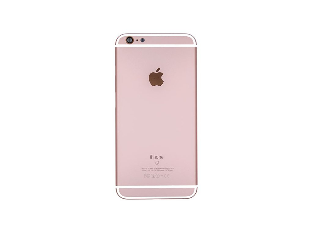 7 Apple iPhone 6S Plus Back rear housing Rose Gold 1 700x600