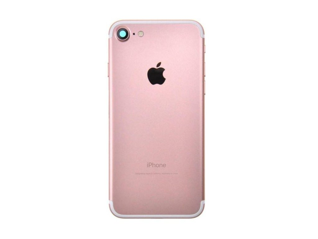 Apple iPhone 7 Bag Cover Rose Guld1504534738.5494