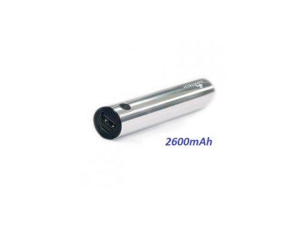 2.600 mAh stříbrný