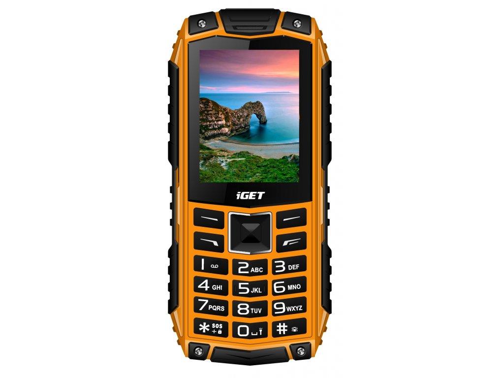 Nově v nabídce nový tlačítkový odolný telefon iGET Defender D10
