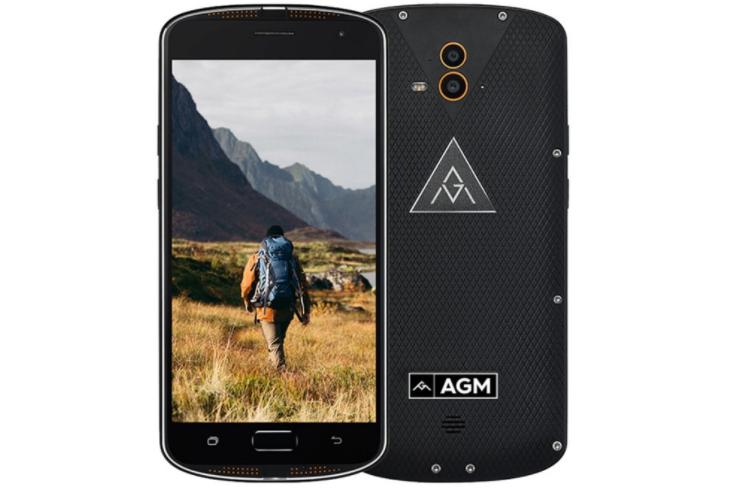 Odolný telefon AGM X1