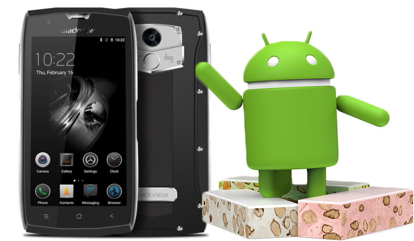 Dostupná aktualizace na Android 7.0 pro Blackview BV7000 Pro