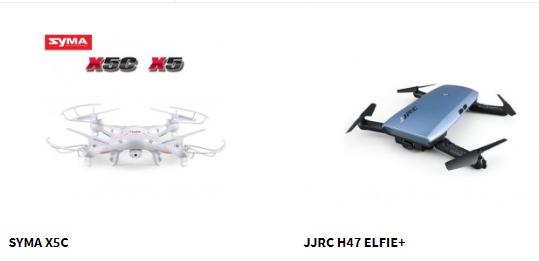 Nově nabízíme drony Syma a JJRC