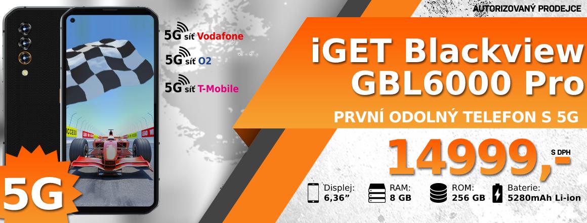 iGET Blackview GBL6000 Pro dostupný skladem