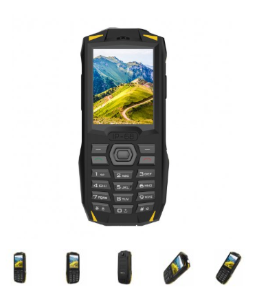 Nově skladem odolný tlačítkový telefon iGET Blackview GBV1000