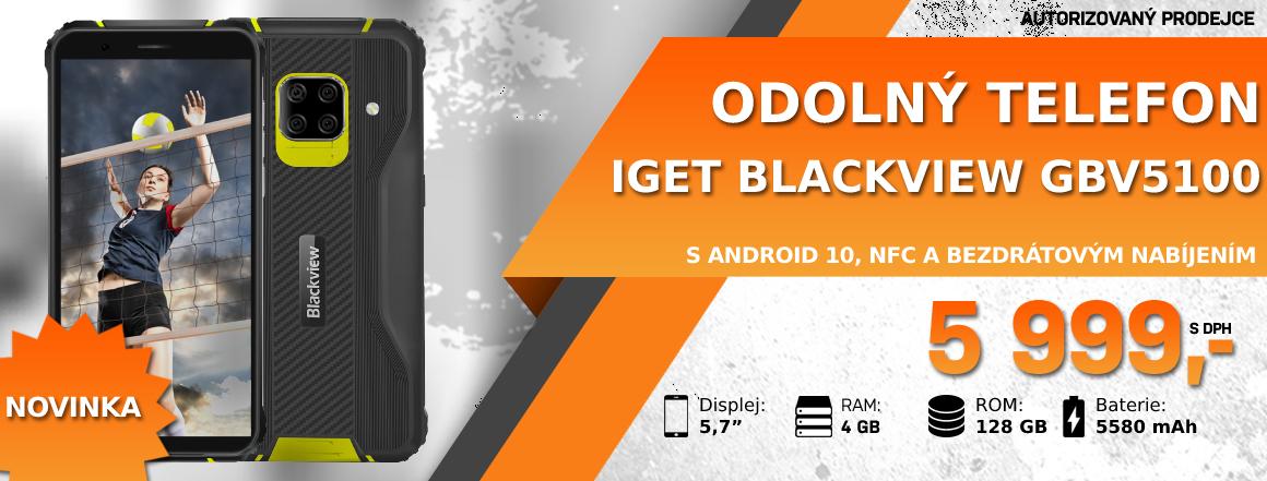 Nový odolný telefon iGET Blackview GBV5100 SKLADEM
