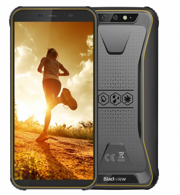 Nový odolný telefon iGET Blackview GBV5500 Pro s dárky zdarma