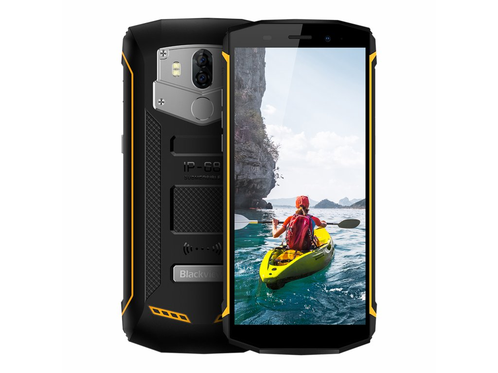 Nově dostupný odolný telefon iGET Blackview GBV5800