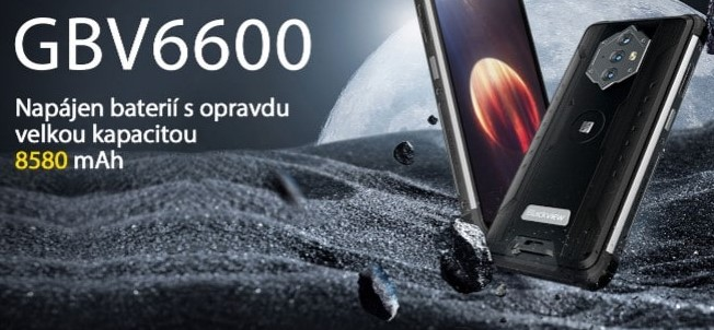 Novinka skladem: iGET Blackview GBV6600