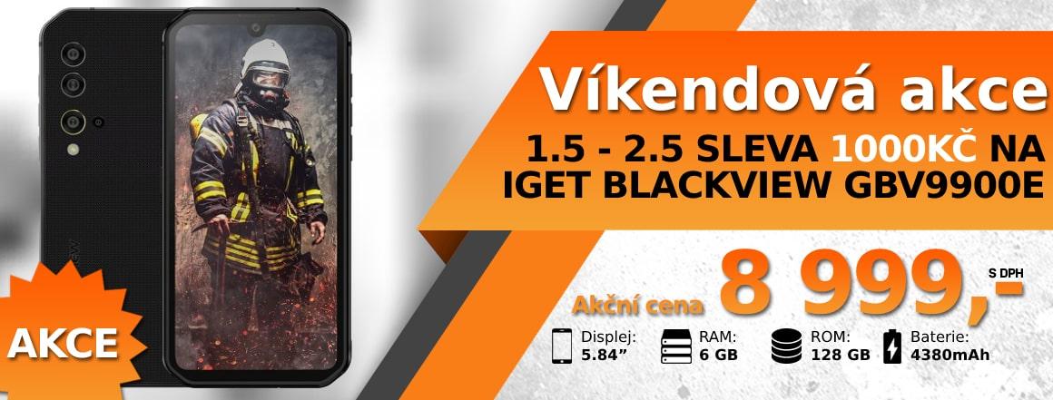 Víkendová májová akce na iGET Blackview GBV9900E