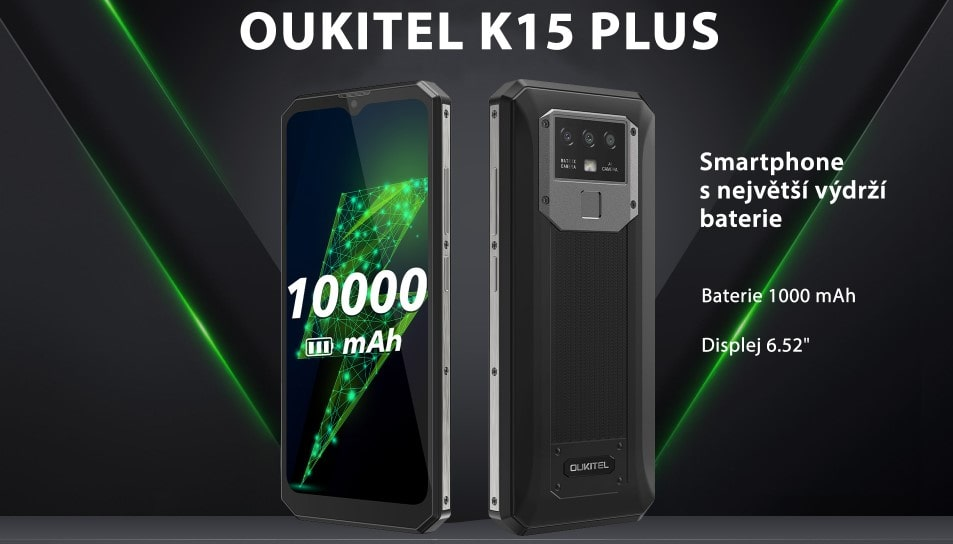 Oukitel K15 Plus skladem