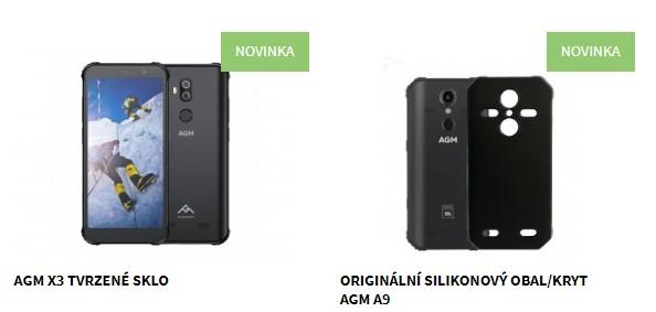 Nové příslušenství pro odolné telefony AGM dostupné skladem