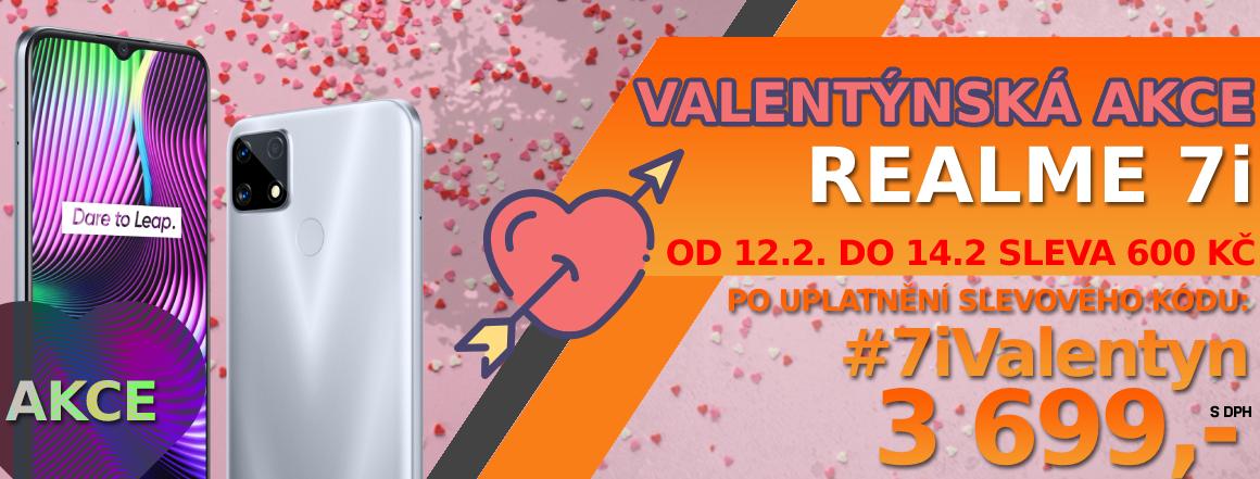 Valentýnská akce na Realme 7i