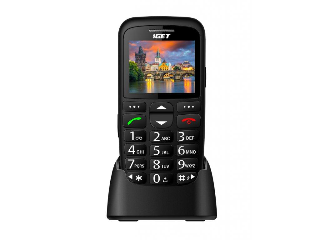Nově skladem iGET Simple D7 kvalitní telefon pro seniory