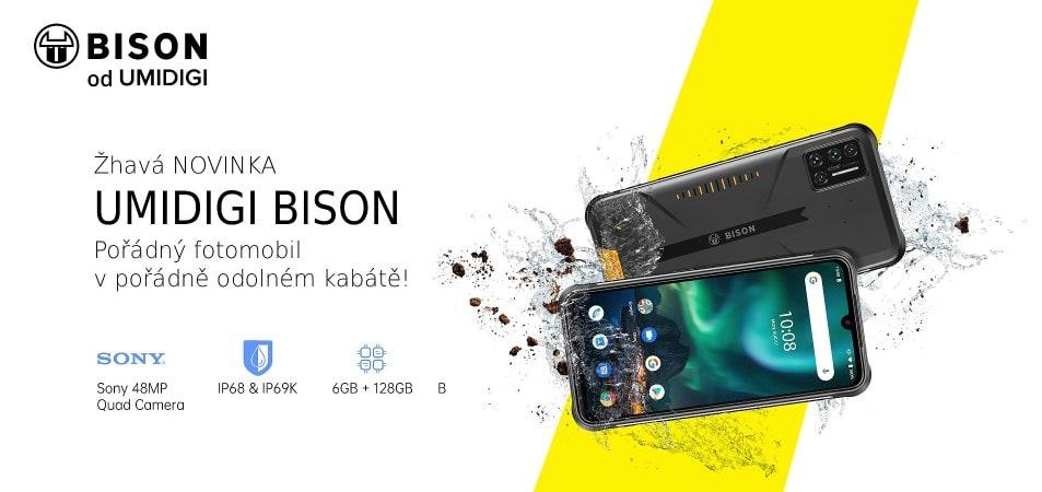 Nové telefony UMIDIGI skladem