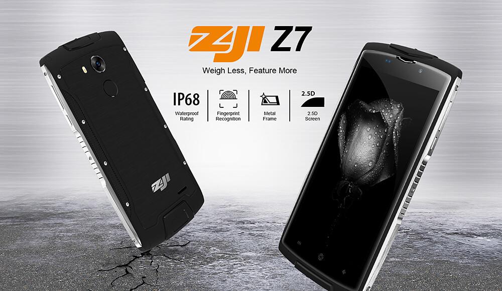Cenově dostupný odolný telefon ZOJI Z7 míří na sklad