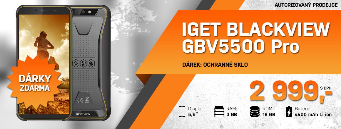 Odolný telefon iGET Blackview GBV5500 Pro