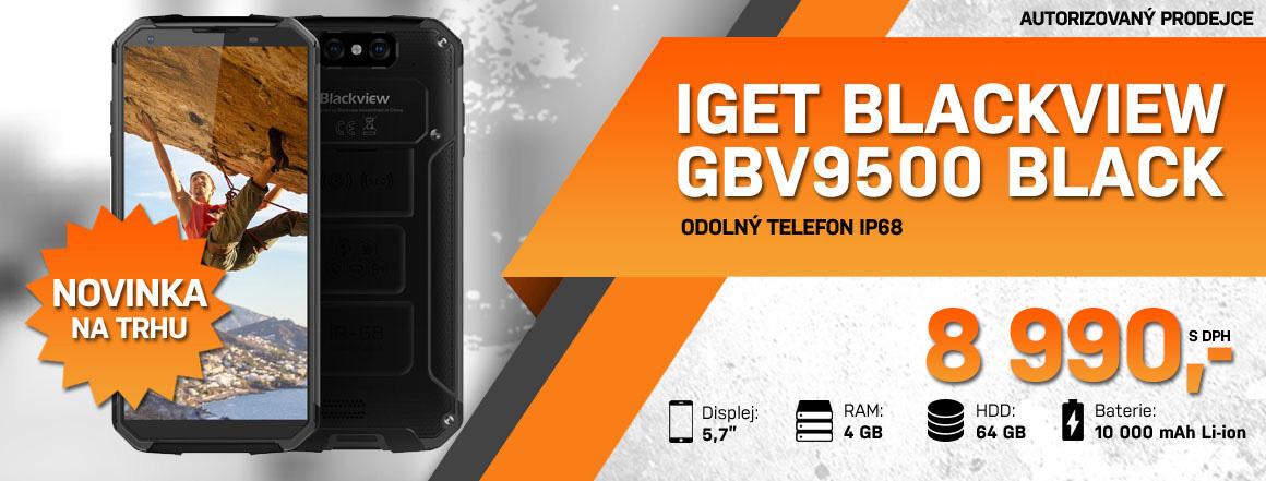 odolný telefon iGET GBV9500 Black