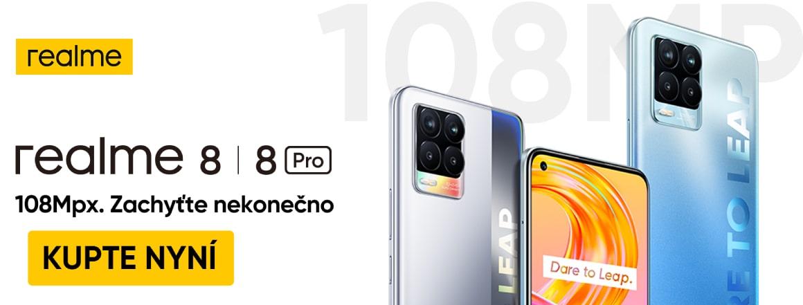 Realme 8 a 8 Pro