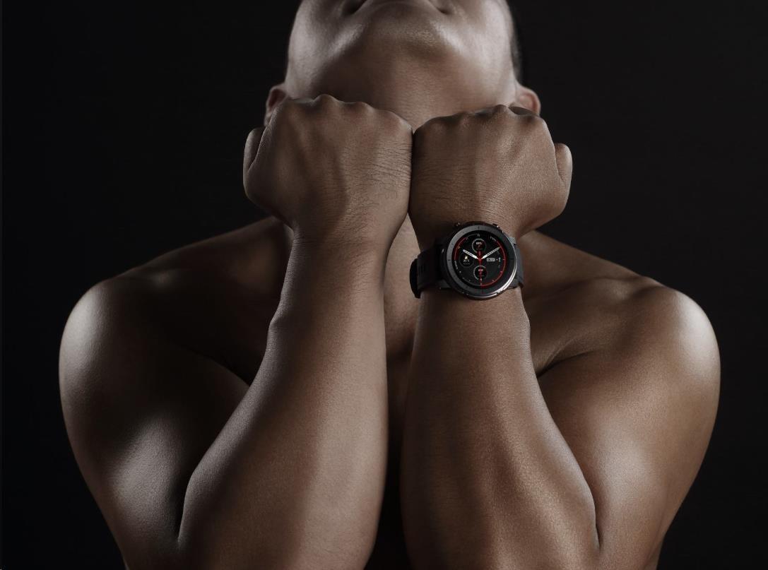 Amazfit Stratos 3 sportovní hodinky