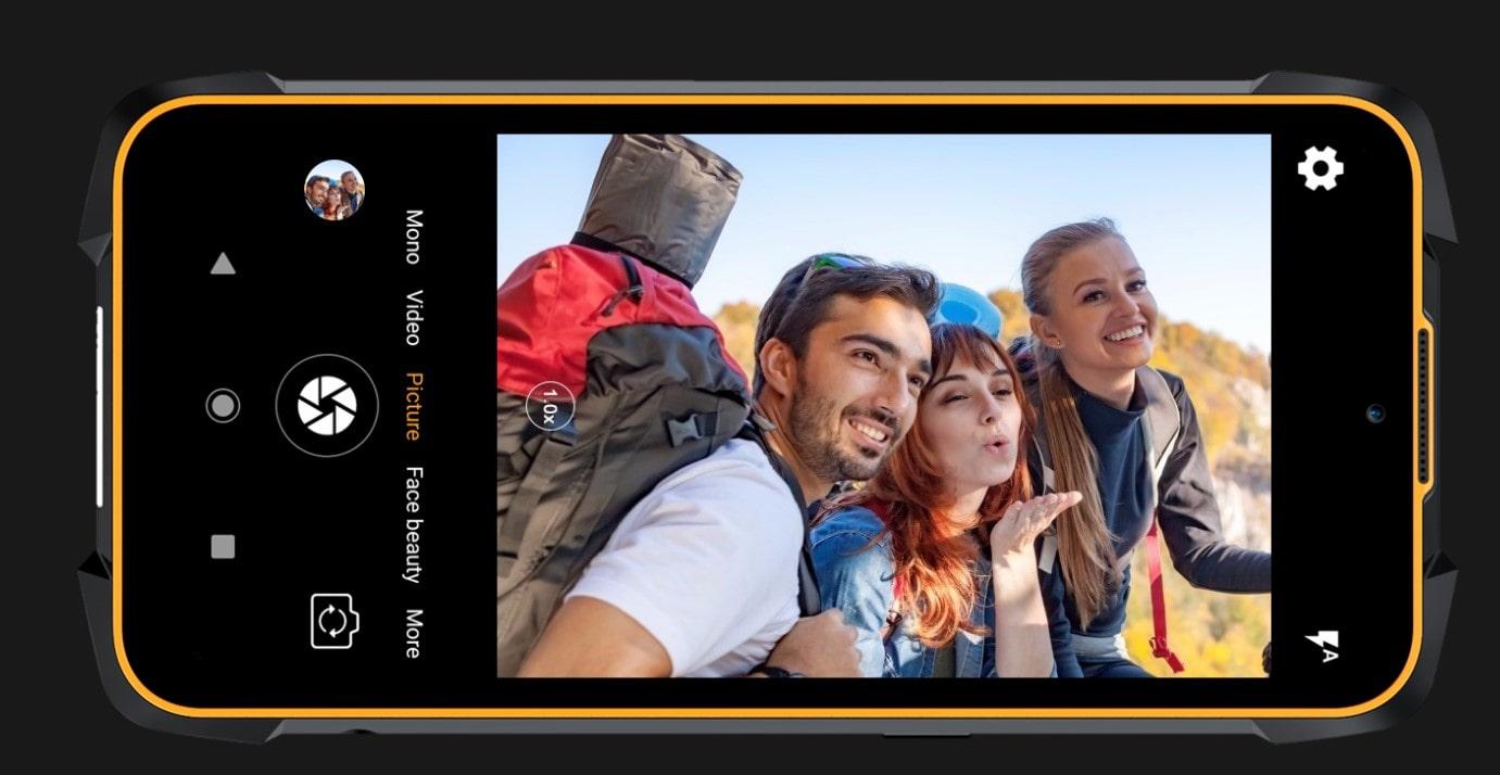 Cubot King Kong 5 Pro selfie kamera