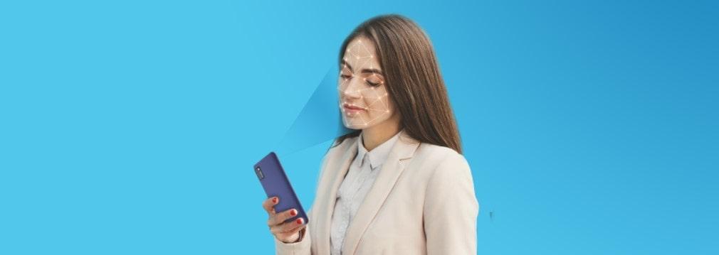Cubot Note 7 rozpoznání obličeje