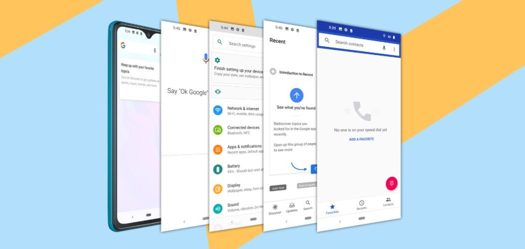 Cubot Note 7 systém Android 10