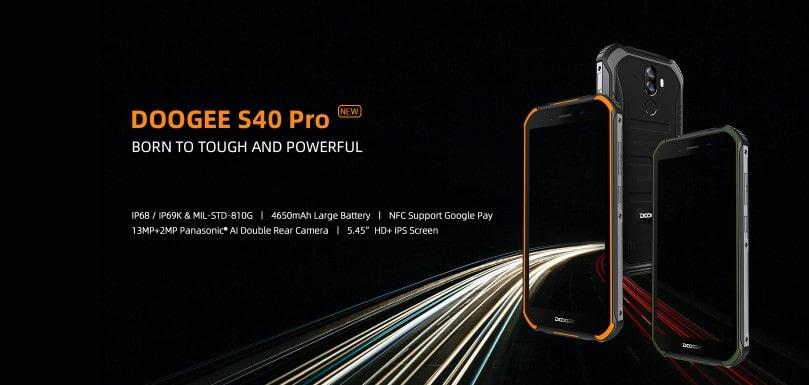 Doogee S40 Pro úvodní obrázek