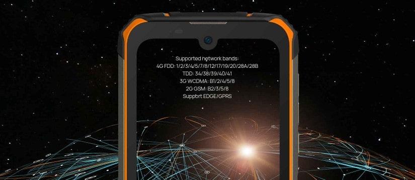 Doogee S59 Pro podporovaná mobilní síťová pásma