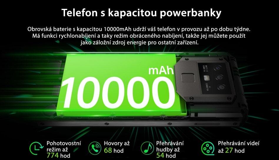 Oukitel K15 Plus baterie