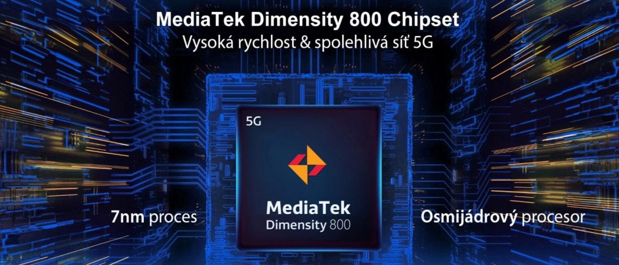 Odolný telefon Oukitel WP10 procesor