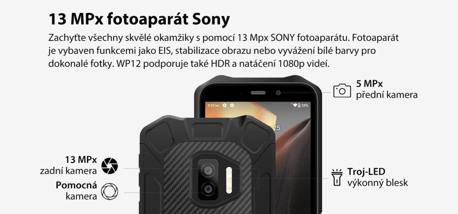 Oukitel WP12 kamera