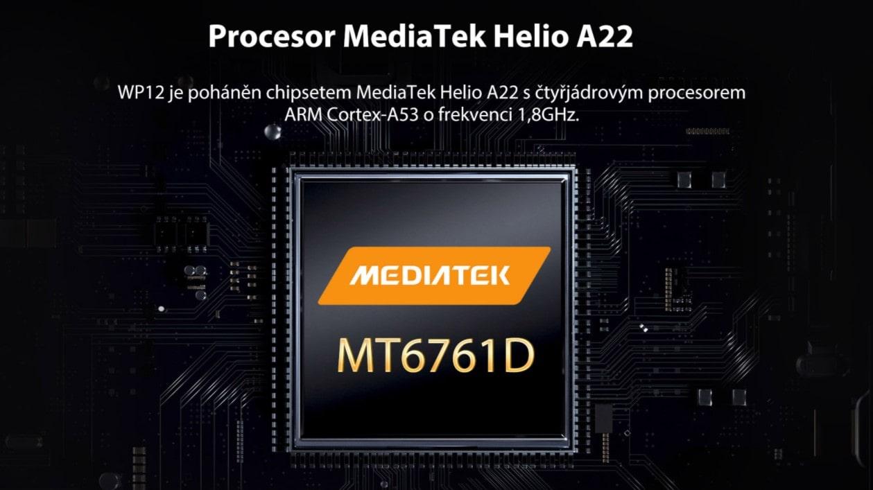 Oukitel WP12 procesor