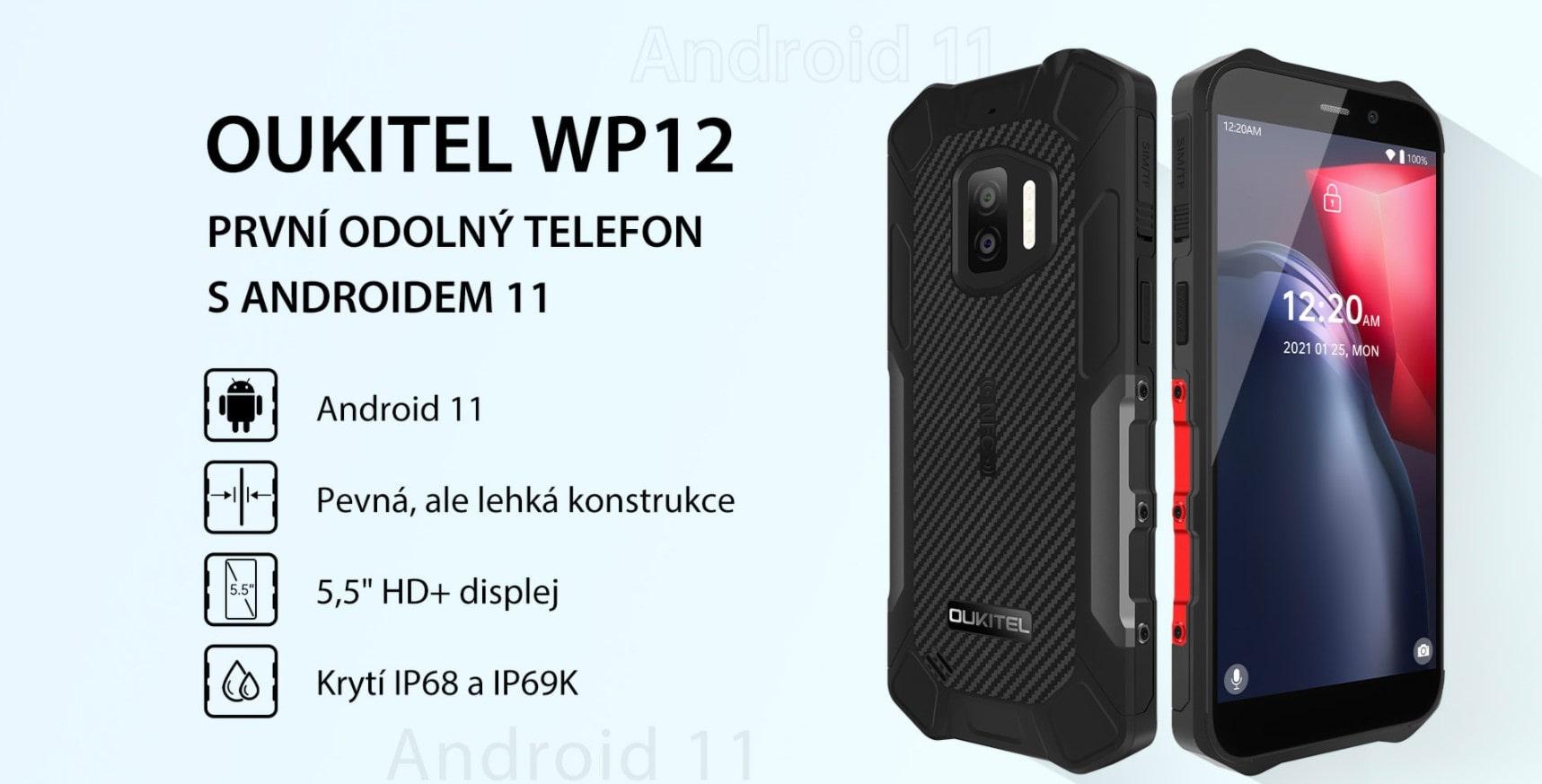 WP12 parametry