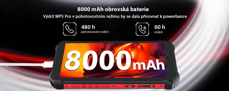 Oukitel WP5 Pro baterie