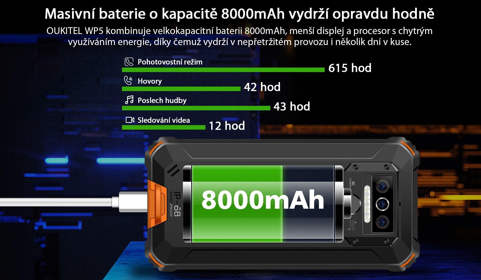 Oukitel-WP5-baterie