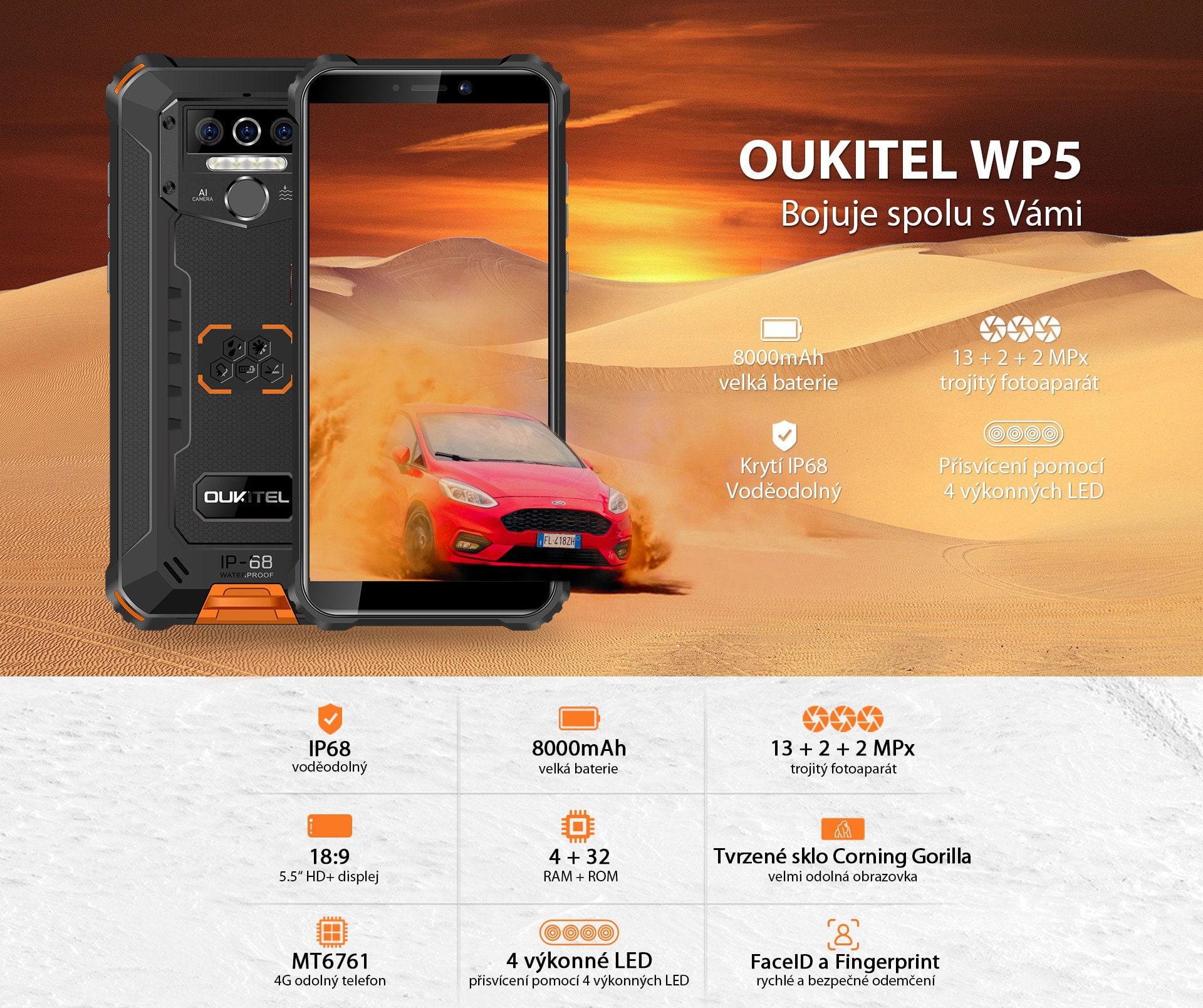 Oukitel-WP5-parametry