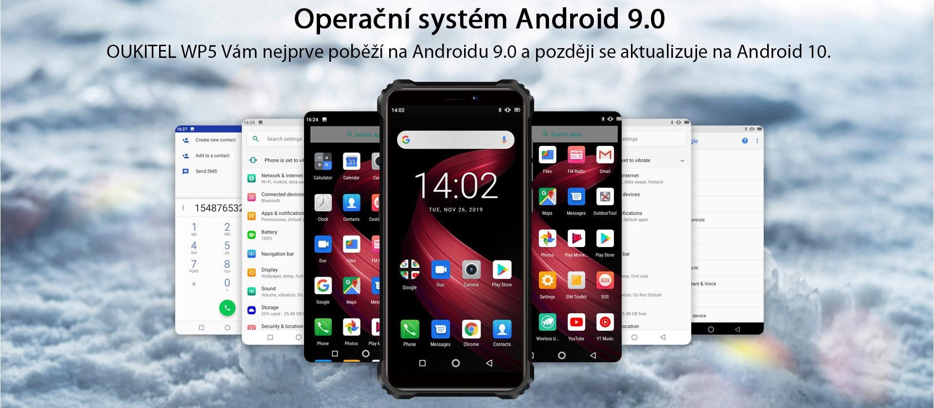 Oukitel-WP5-system