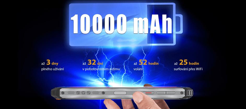 Oukitel WP6 4GB/128GB baterie