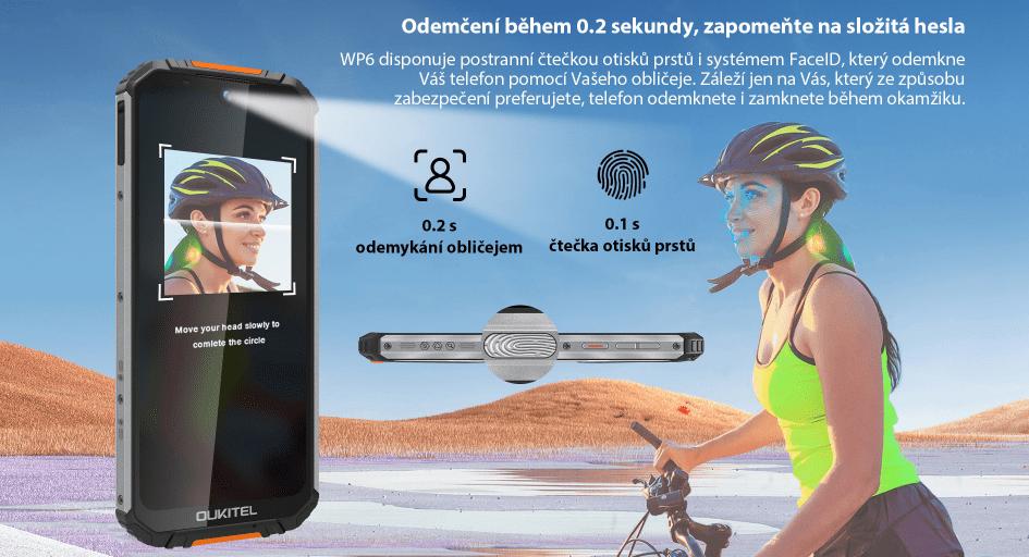Oukitel WP6 4GB/128GB odemykání
