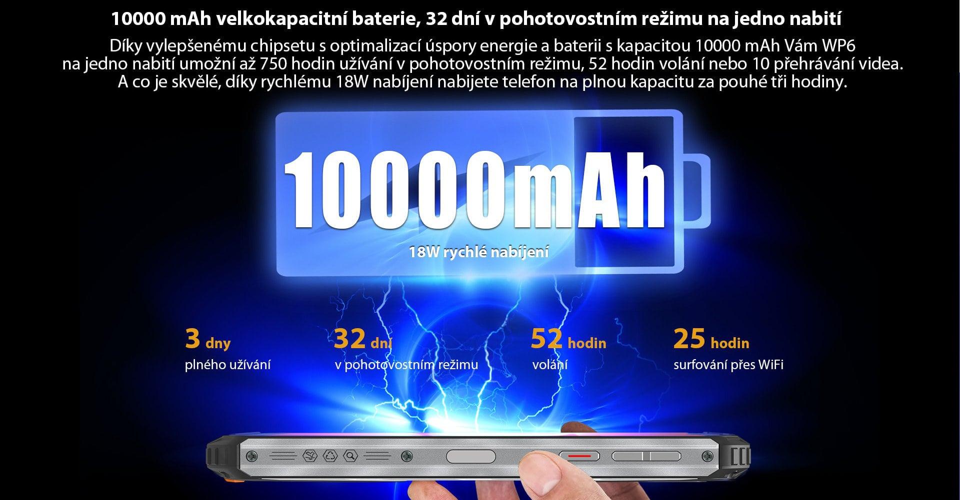 Oukitel-WP6-baterie