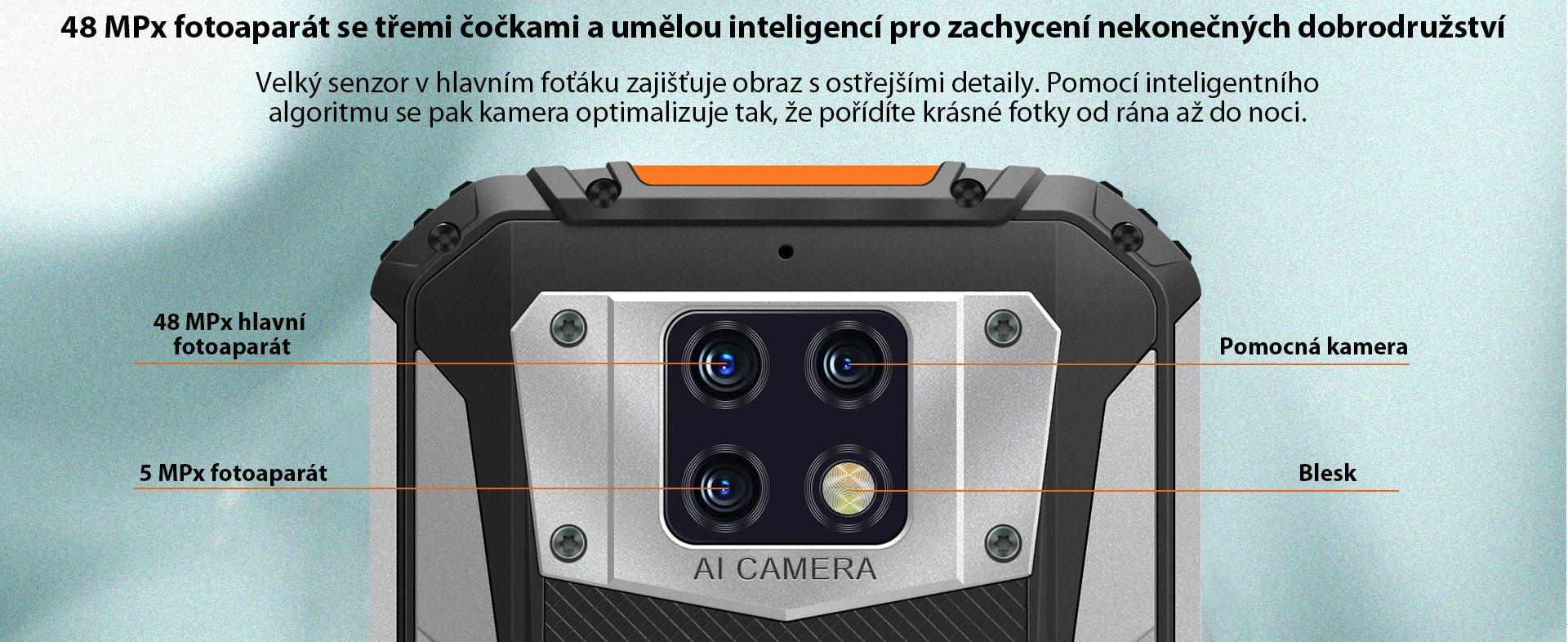 Oukitel-WP6-kamera