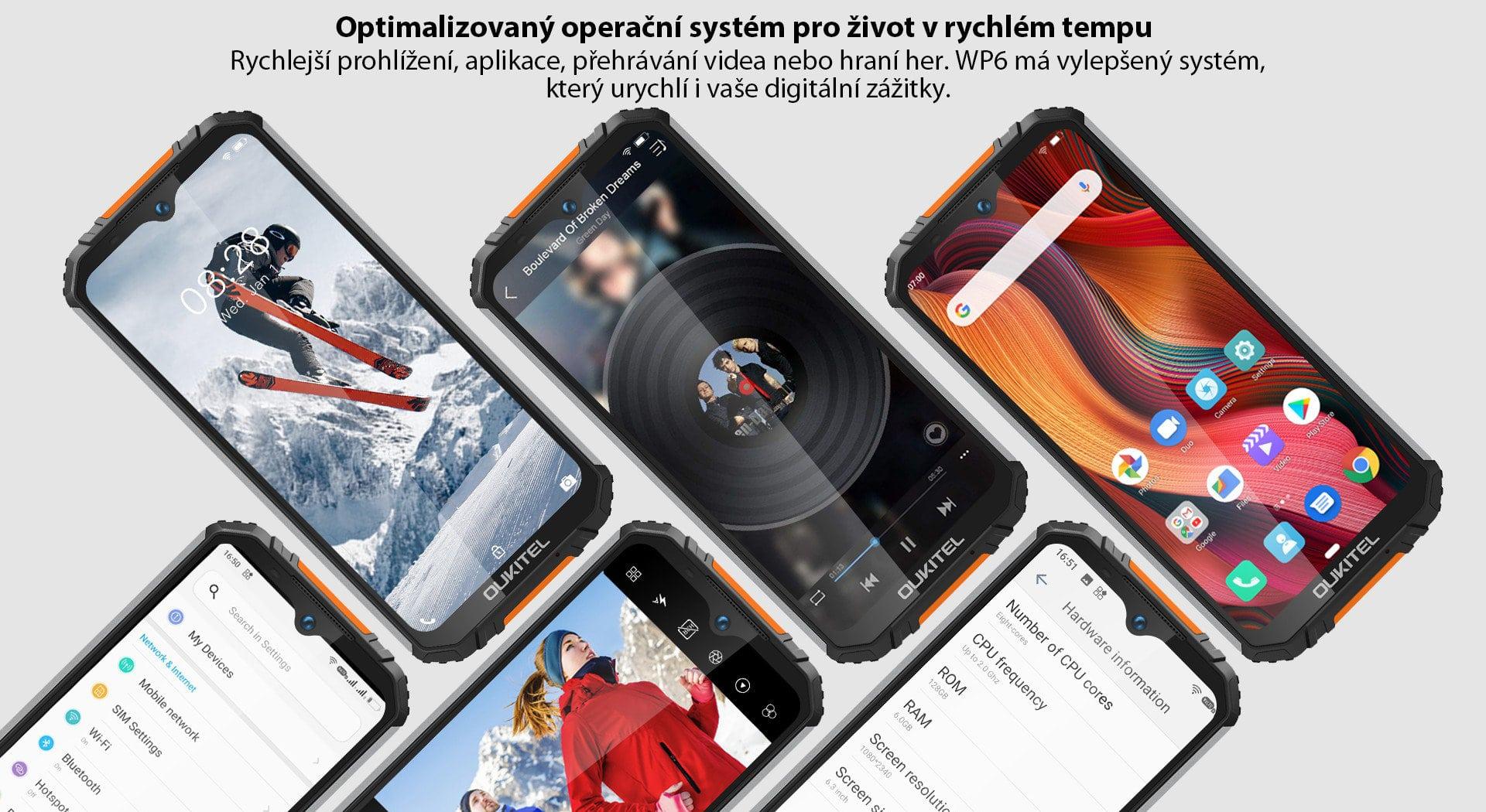 Oukitel-WP6-system