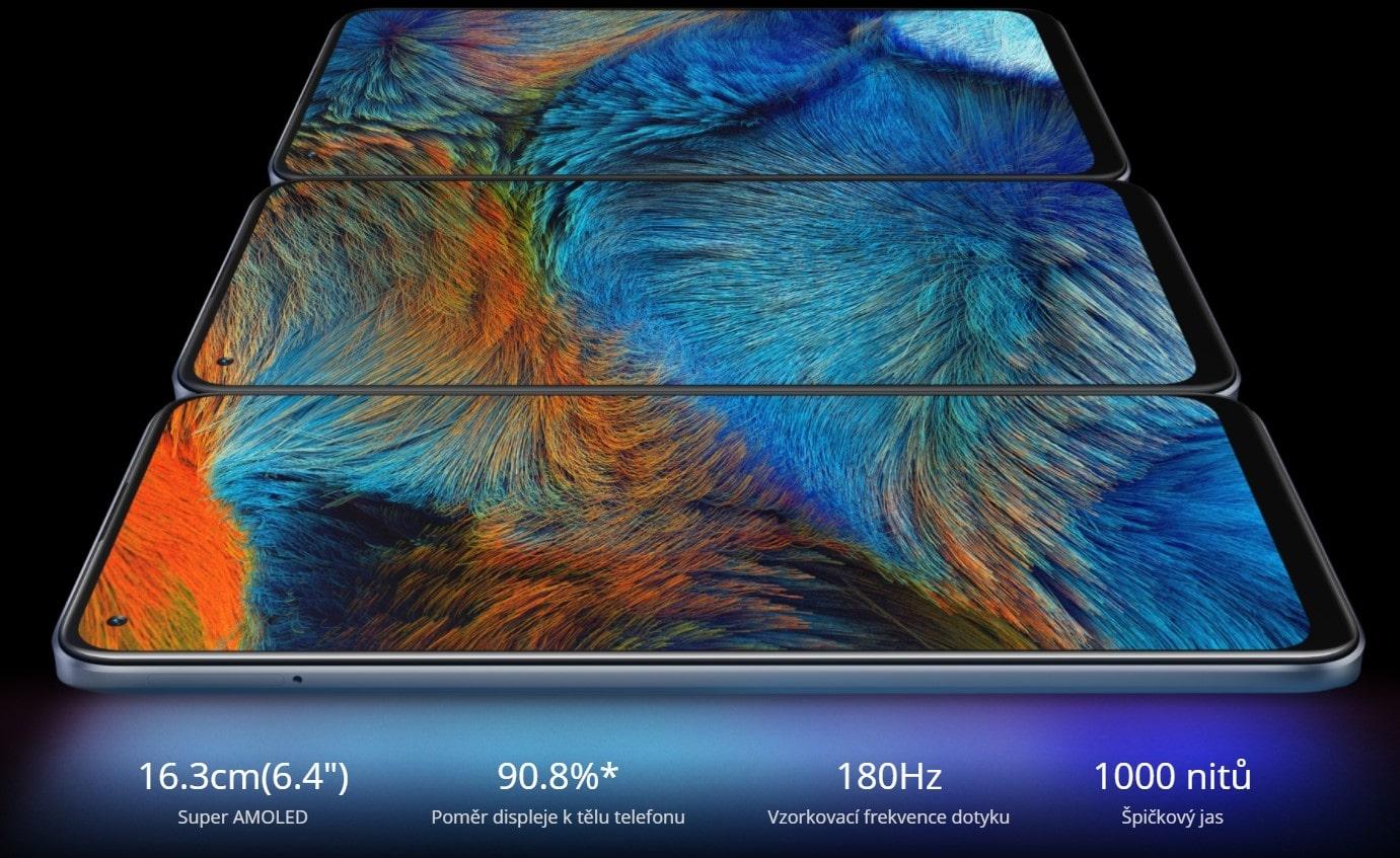 Realme 8 6GB/128GB displej