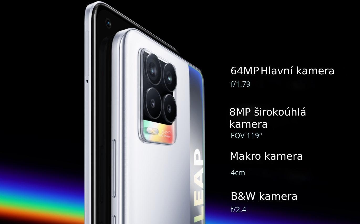 Realme 8 6GB/128GB zadní kamera