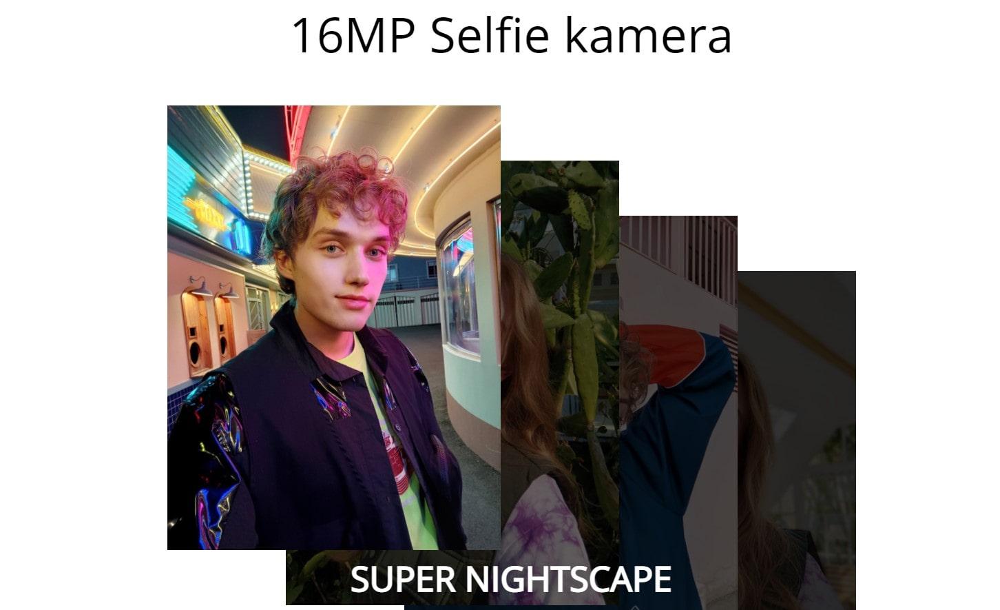 Realme 8 6GB/128GB selfie kamera