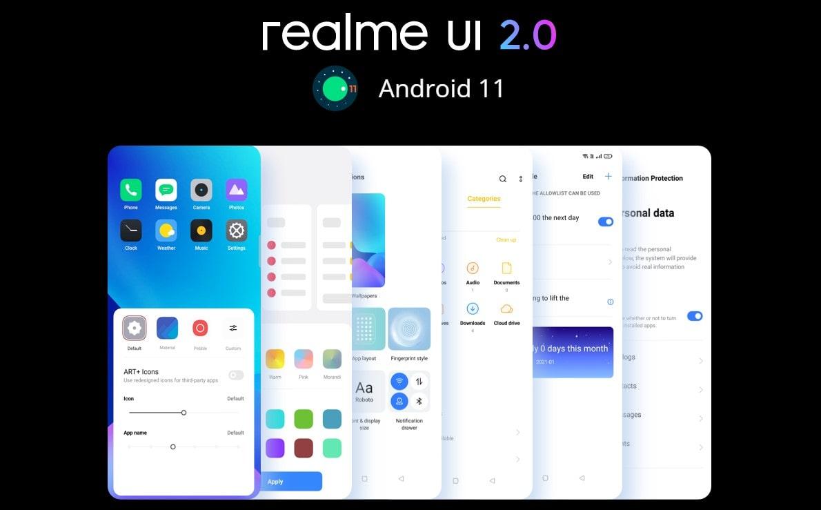 Realme 8 6GB/128GB systém Android