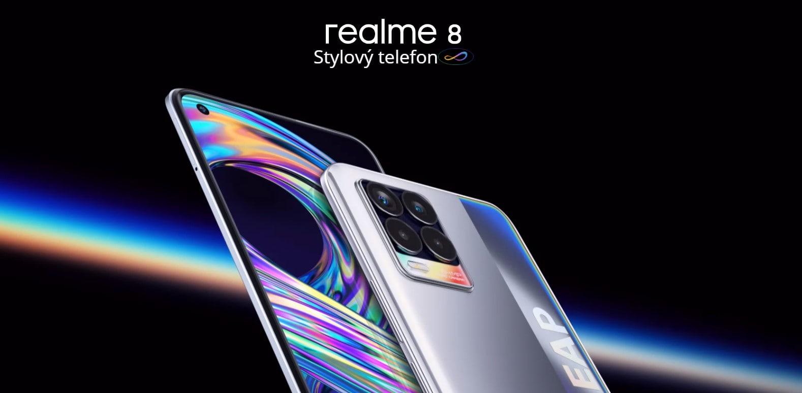 Realme 8 6GB/128GB úvod