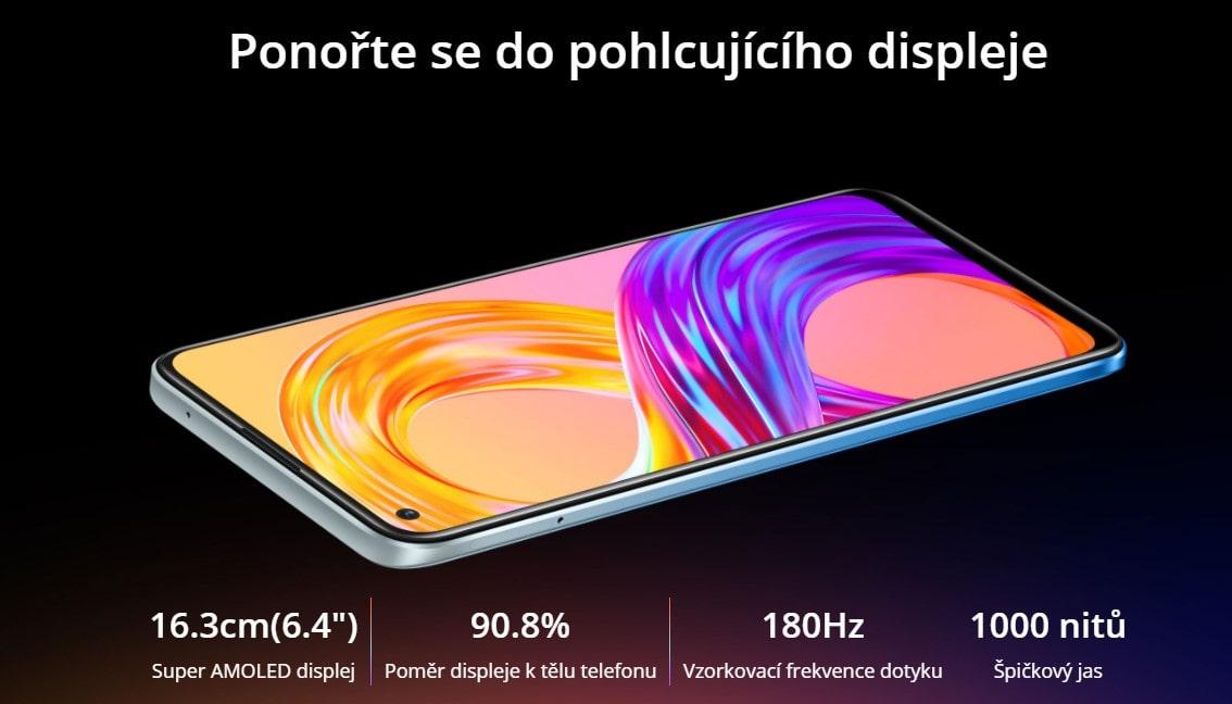 Realme 8 Pro displej