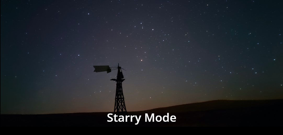 Realme 8 Pro fotka hvězdná obloha